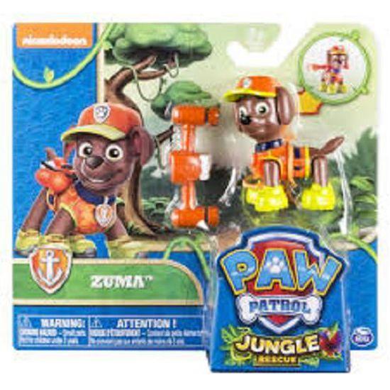 Figurine Zuma Pat Patrouille Jungle Sous Blister