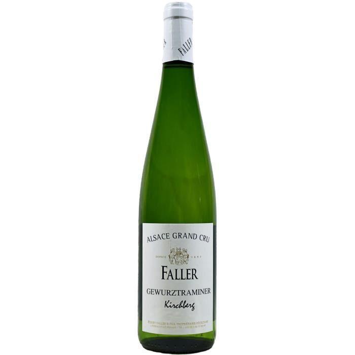 Gewürztraminer Kirchberg, Grand Cru, Robert Faller et Fils (Alsace), 2013 - Vin Blanc