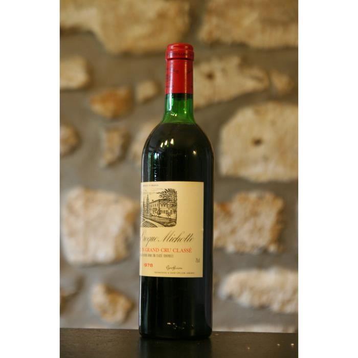 Château Croque Michotte 1978 Rouge
