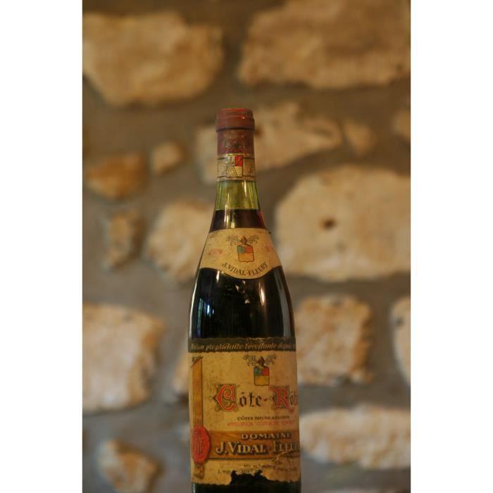 Vin rouge, Cote Rotie, Domaine Vidal Fleury 1979 Rouge
