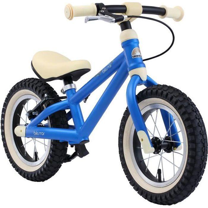BIKESTAR - Draisienne - 12 pouces - pour enfants de 3 ans - Edition VTT - garçons et filles - Bleu