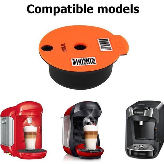 Capsules de café bosch-s Tassimo 60-180ML, panier à filtre en plastique réutilisable, dosette, Machine à café, [45FDAAA]