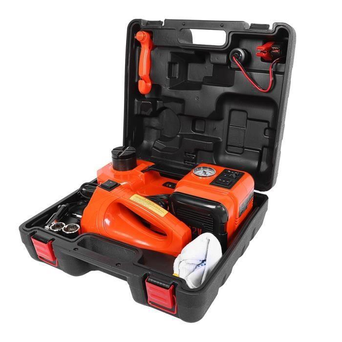 Dioche Clé électrique automatique Ensemble de clés électriques automatiques de pompe à air de voiture de cric électrique de