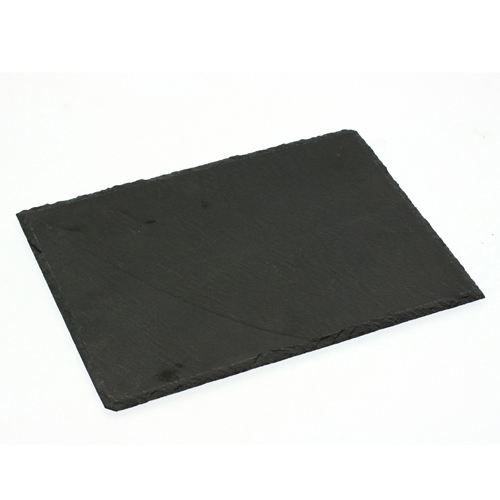 Assiette en ardoise - L. 24 cm