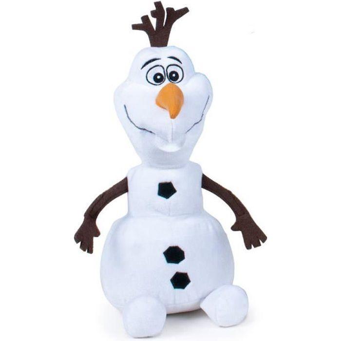 LA REINE DES NEIGES Peluche Olaf 30 cm