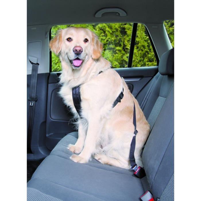 TRIXIE Harnais pour voiture pour chien 50-70 cm