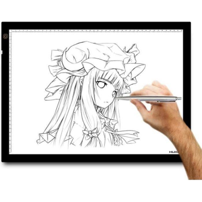 Tablette Graphique - Huion A3 23.5 pouces Tatoo traçant la...