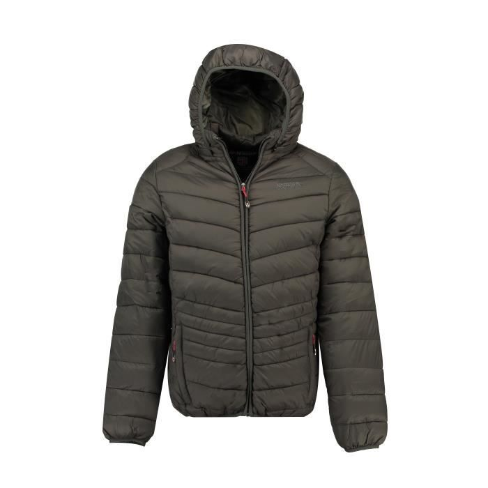 Doudoune Homme Geographical Norway Damyel Hood Gris fonc�
