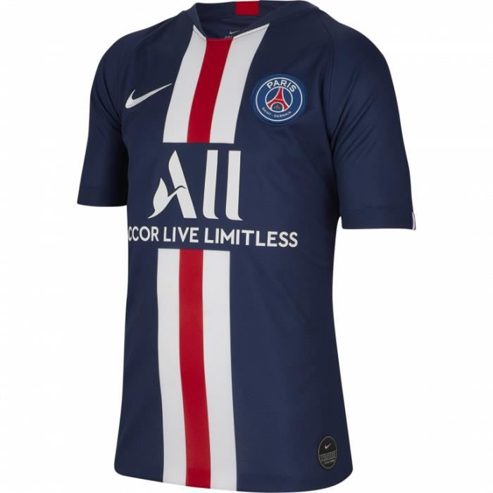 MAILLOT JUNIOR DOMICILE PSG PARIS TOP BLEU 2019/20