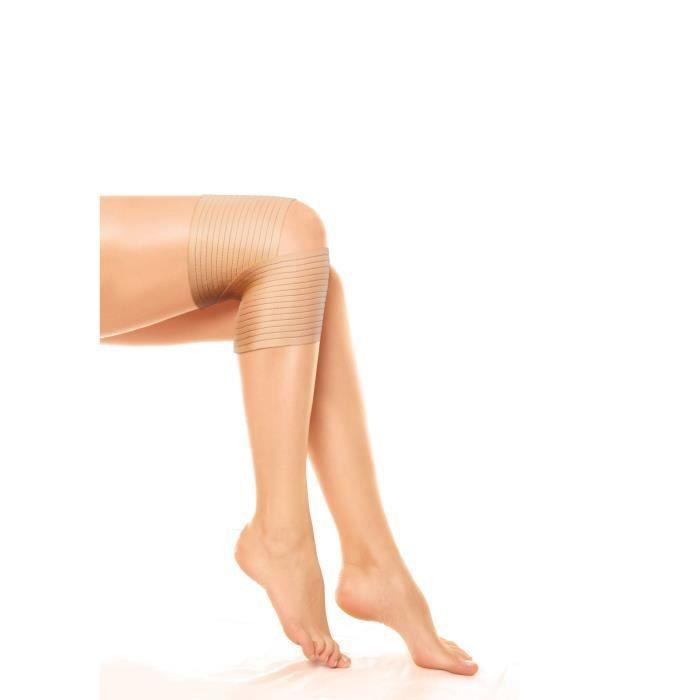 Bandage Strap genou NOVOLIFE NL-21003 - Soulage les douleurs du genou - Bande auto aggripante - 61,5 x 10,5 cm - Taille universelle