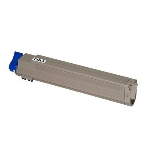 Oki Cartouche toner 43837131 Compatible C9655 Standard 22.000 pages Cyan