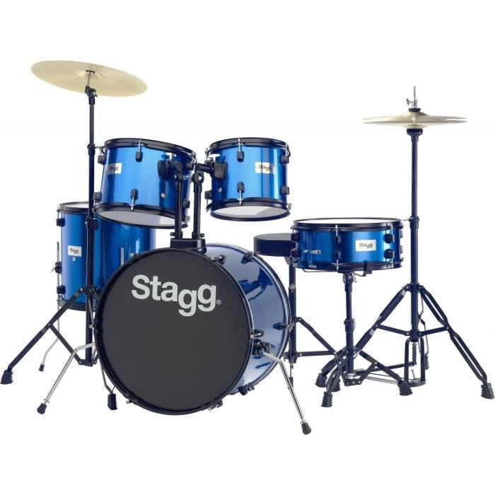 STAGG TIM120B BL Batterie Acoustique 20\