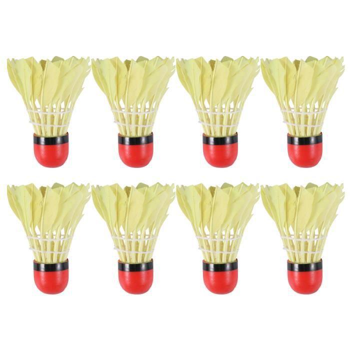 11pcs Red Head Badminton Hit-resistant Drop-resistant Balls for Indoor Outdoor Activities (Random Color) VOLANT DE BADMINTON