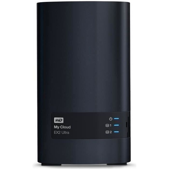 WD - Serveur de Stockage domestique & pro - My Cloud EX2 Ultra - 12To