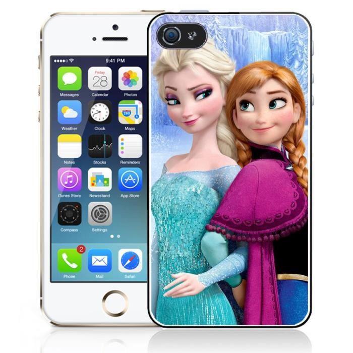 Coque iPhone 4-4S La Reine Des Neiges - Elsa et An