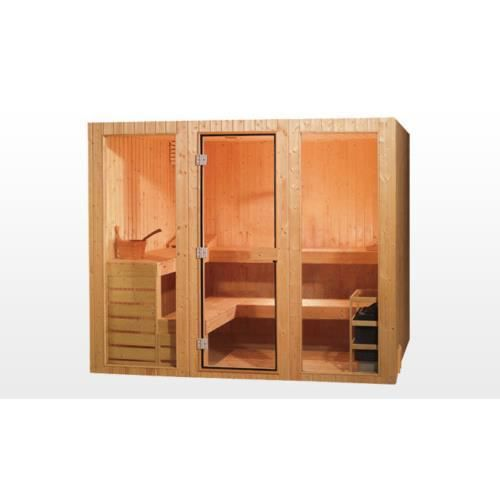 vitala sauna traditionnel 200x150x200 pour 3 achat. Black Bedroom Furniture Sets. Home Design Ideas