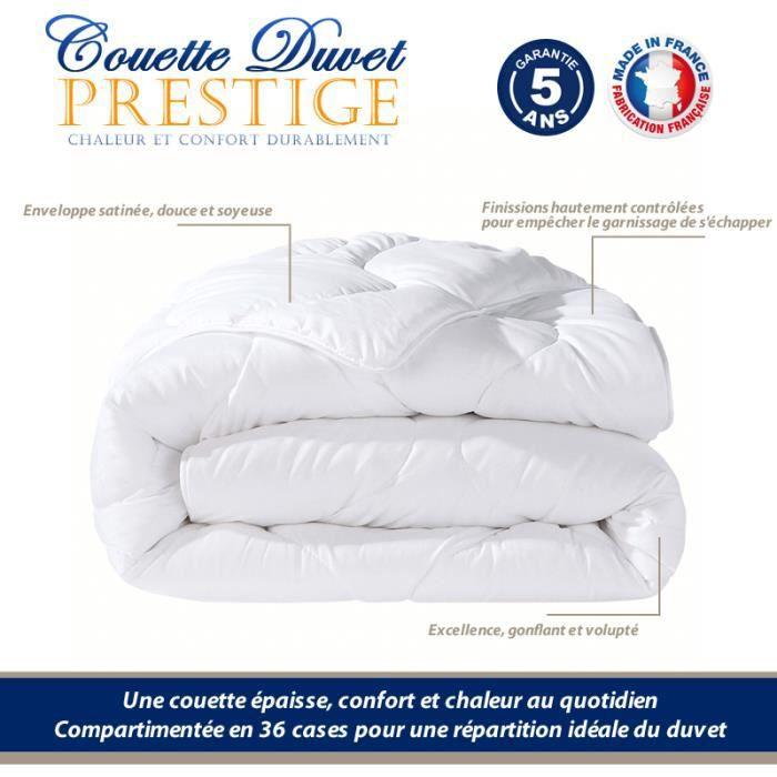 COUETTE DUVET 220x240 ,80% Duvet Oie Blanc