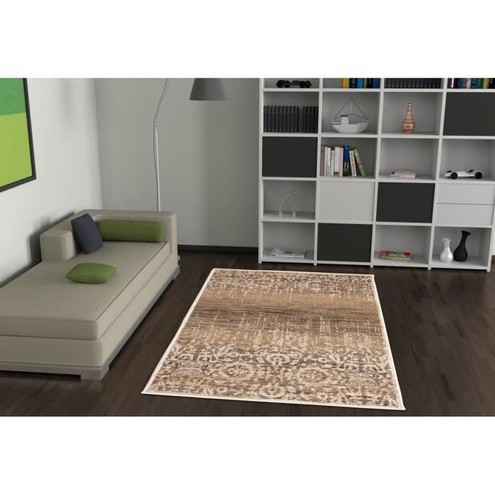 allotapis tapis vintage caramel courtes m ches convivo mist 80x150cm caramel achat. Black Bedroom Furniture Sets. Home Design Ideas