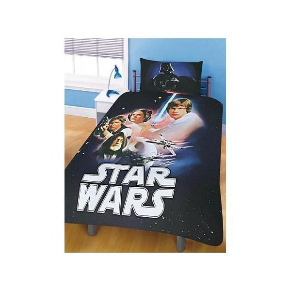 housse de couette star wars. Black Bedroom Furniture Sets. Home Design Ideas