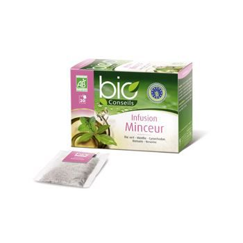 bio conseils infusion minceur bio 20 sachets 30g achat vente infusion bio conseils infusion. Black Bedroom Furniture Sets. Home Design Ideas