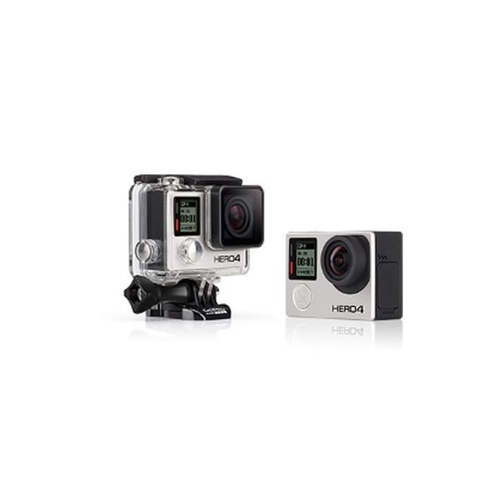 camera gopro hero 4 black achat vente cam ra sport cdiscount. Black Bedroom Furniture Sets. Home Design Ideas