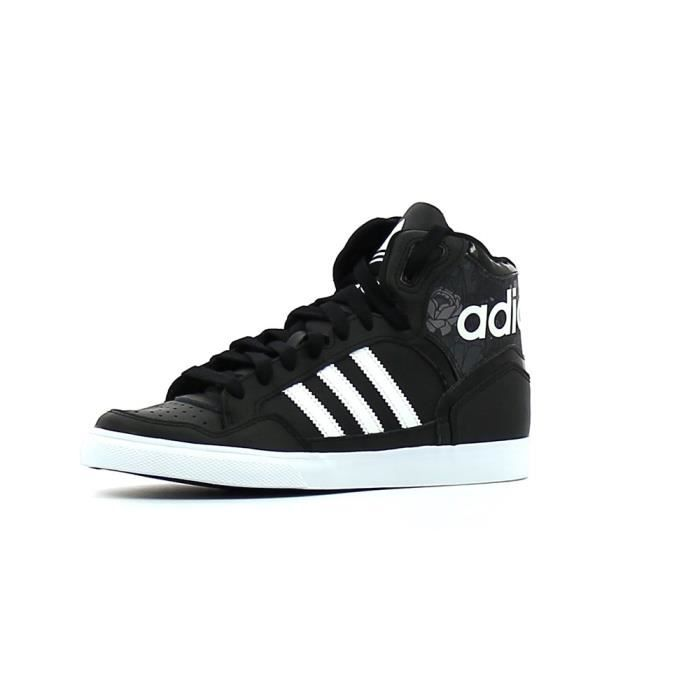 Baskets montantes adidas Originals EXTABALL W Noir Blanc