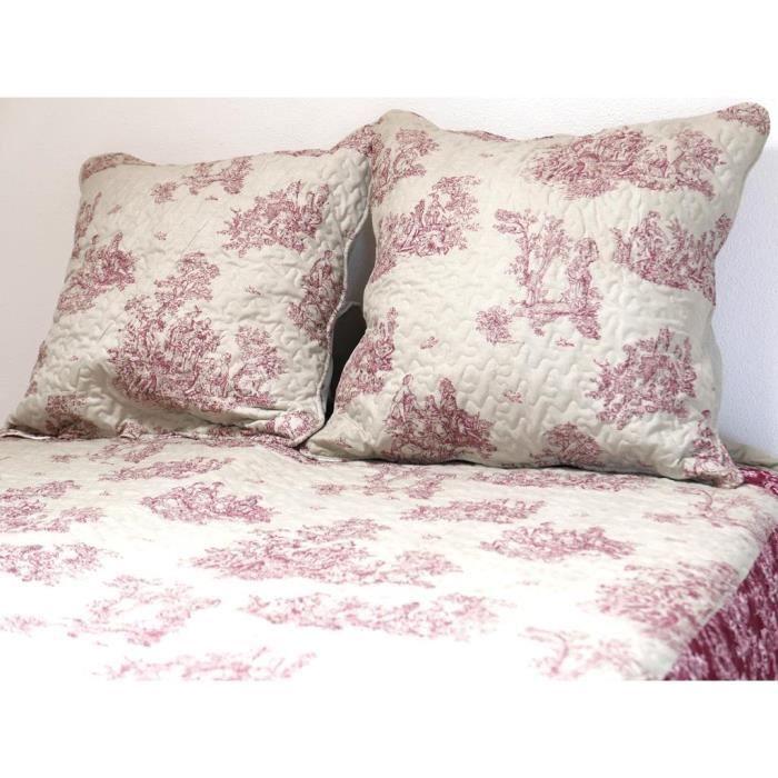 jet/é de lit Soleil docre Coralie Boutis Multicolore 220 x 240 cm Couvre Polyester