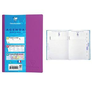AGENDA - ORGANISEUR CLAIREFONTAINE Agenda scolaire 400 pages - 1 jour