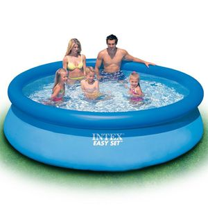 PISCINE INTEX Kit piscine ronde Easy Set - Ø304 x 76 cm