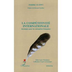 LIVRE GESTION La compétitivité internationale