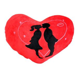 POUPON Poupon H49Y2 Valentine Heart Cushion Lovely Kissin