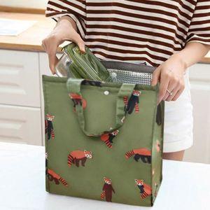 LUNCH BOX - BENTO  Boîte de pique-nique de sac à lunch isolé portable