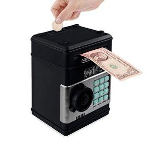 TIRELIRE ATM tirelire électronique avec mot de passe noir