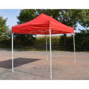 TONNELLE - BARNUM Barnum Pliant 2x3m Rouge - Tente Pliante Etanche