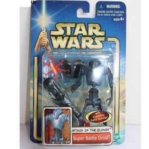 FIGURINE - PERSONNAGE FIGURINE MINIATURE STAR WARS Attack of the clones
