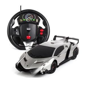 RADIOCOMMANDE POUR DRONE Lamborghini voiture de sport volant induction télé