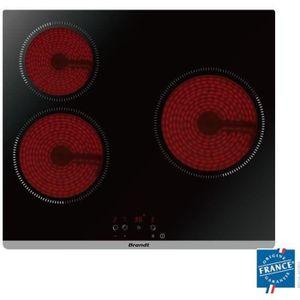 PLAQUE VITROCÉRAMIQUE  BRANDT BPV6320 Plaque de cuisson vitrocéramique -