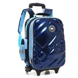 CARTABLE Cartable à Roulettes Double roue Trolley Bag imper