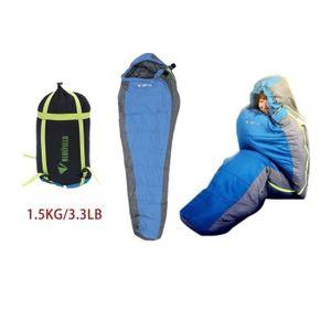 SAC DE COUCHAGE 1.5kg sac de couchage imperméable pour camping d'h