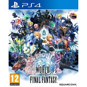 JEU PS4 World of Final Fantasy Jeu PS4 Day one Edition+ 2