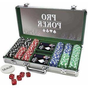 MALETTE POKER Mallette de poker ProPoker 300 Jetons