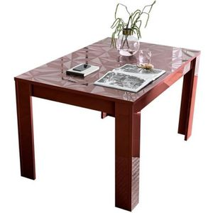 Table Extensible Rouge Achat Vente Table Extensible