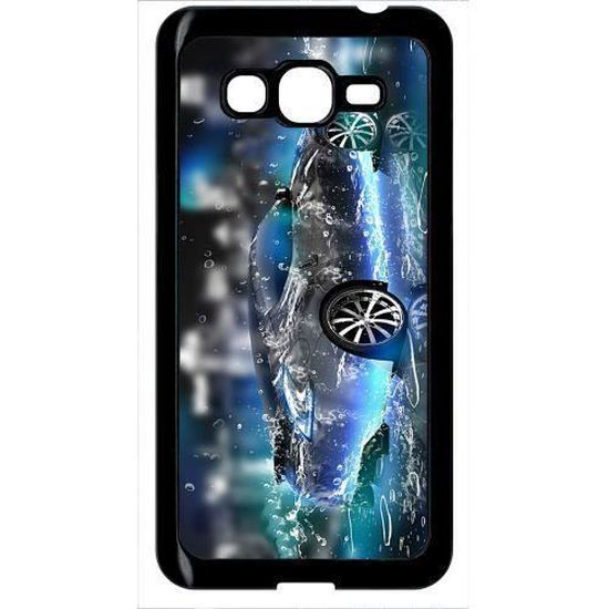 Coque samsung galaxy grand prime g5306 voiture prototype 3d tuning eau