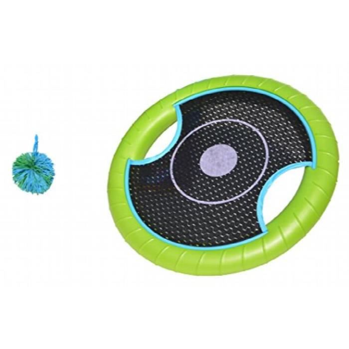 The Trampoline Paddle Ball 2 Player Sports Set By RJNWG