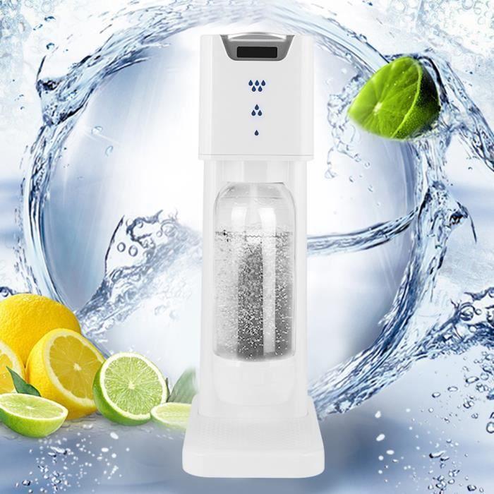 Machine à soda commerciale de ménage de bricolage machine à boisson gazeuse au cola (blanc) -CWU