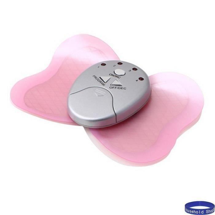 Household Shop® Appareil d'électro-stimulation Slimming Massager papillon pad masseur MC17189