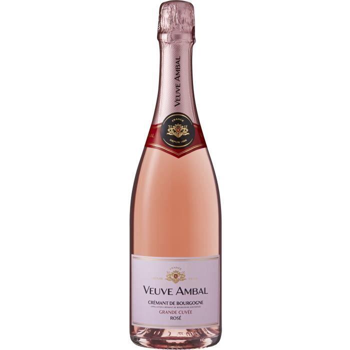 Veuve Ambal Grande Cuvée - Crémant de Bourgogne Rosé