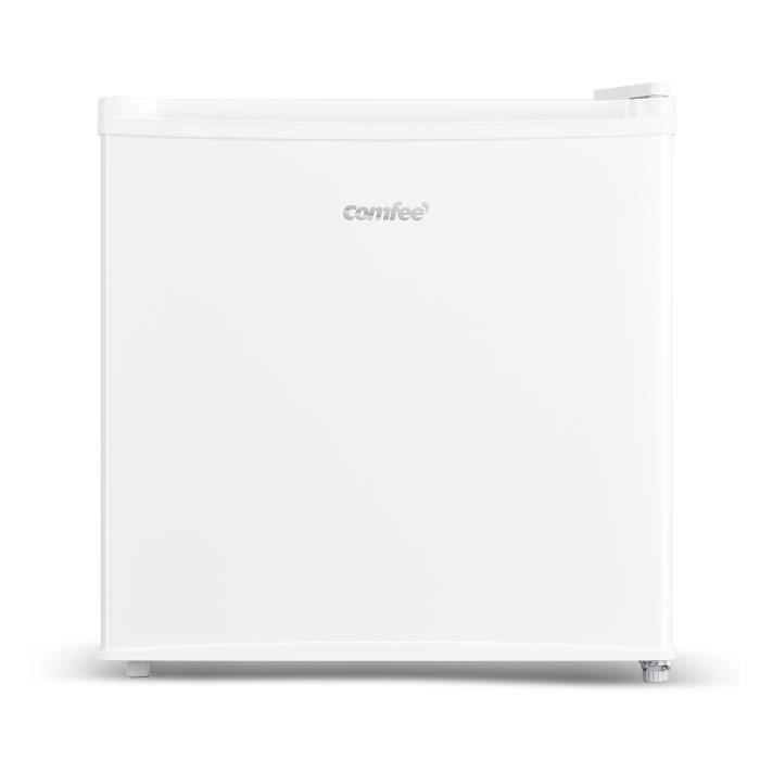 COMFEE- RCD50WH1(E)-Réfrigérateur Minibar 43 L - Porte à Charnières Réversibles - Blanc [Classe énergétique F]