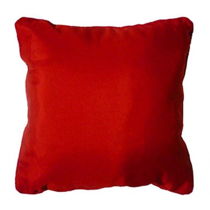 Coussin 40x40 ESSENTIEL rouge