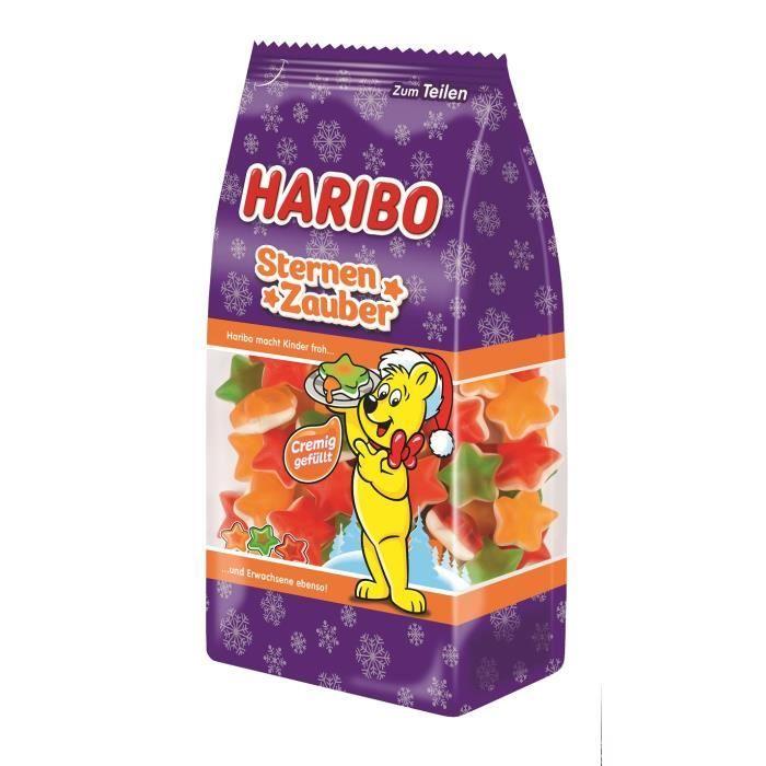 Haribo Sort d'étoile Noël 250g